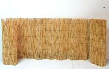 More details for bamboo screening roll natural fence panel peeled reed fencing outdoor garden 4m