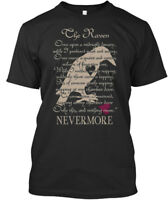 Edgar Allan Poe The Raven - Once Upon A Midnight Dreary, Premium Tee T-Shirt