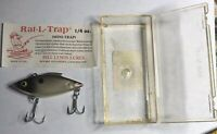 Vintage Bill Lewis Rat L Trap Lure 1/4 Oz Mini Trap With Box
