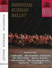 ESSENTIAL RUSSIAN BALLET ORCH ROYAL OPERA HOUSE MARK ERMLER CASSETTE ALBUM