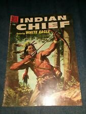Indian Chief #19 Dell comics golden age western native american movie collection