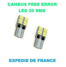 LED VEILLEUSE AUDI A4 (B7) T10 W5W 20 SMD BLANC CANBUS NEUF