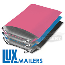 Colored Poly Bubble Mailers Pink Black Blue Plastic Envelopes The Boxery