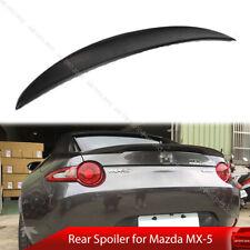 For Mazda Miata MX-5 MX5 Performance Rear Trunk Spoiler Unpainted