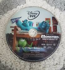 Monsters University (DVD) disc only