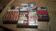 Lot of 6 James Patterson books