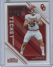2018 Panini Contenders Draft Game Day Ticket Insert #24 Baker Mayfield