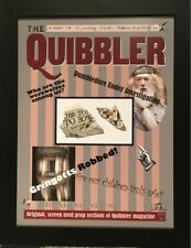Harry Potter ORIGINAL PROP Quibbler magazine sections used in Deathly Hallows