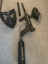 Tippmann 98 Custom With Cp Barrel & Helix Mask