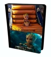 Cute Baby Groot Guardians Of The Marvel Tablet Leather Case Cover