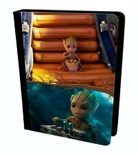 Cute Baby Groot Guardians Of The Galaxy Marvel Tablet Leather Case Cover