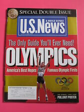 DAN O'BRIEN US OLYMPICS US NEWS & WORLD REPORT 1996 SUMMER OLYMPIC PREVIEW