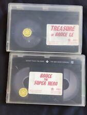 BRUCESPLOITATION BETAMAX Bruce The Superhero + Treasure Of Bruce Le KUNG FU Cult