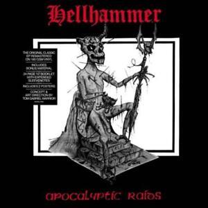 HELLHAMMER - APOCALYPTIC RAIDS NEW VINYL RECORD