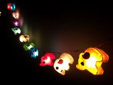 Saa Paper Elephant Fairy Light with String Globe Bulb 3 metres long Fair Trade