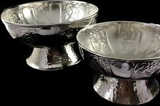 Uma Enterprises Set of 2 Aluminum Bowls Floral Pattern 2 Sizes Item # 27461