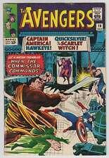 L9056: Avengers #18, Vol 1, F/f+ Condition