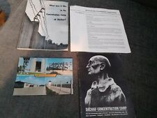 DACHAU CONCENTRATION  CAMP LITERATURE FROM THE 1970S