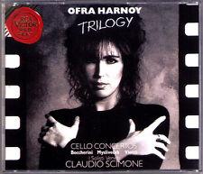 Ofra HARNOY Trilogy BOCCHERINI MYSLIVECEK VIOTTI Cello Concerto Claudio SCIMONE