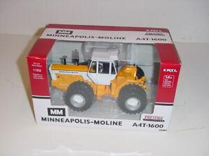 "1/32 ERTL Minneapolis Moline ""Yellow Chase"" A4T-1600 Tractor W/Duals NIB!"