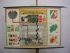 School Wall Picture Beautiful Old North Rhine-Westphalia State NRW 122x86c 1967