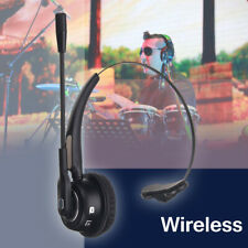 Wireless bluetooth Headset With Mic Noise-Canceling USB Stereo Headphone