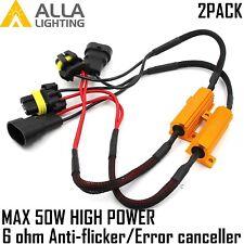 9006 9005 9012 LED Headlight Canbus Error Free Anti Flicker Resistor Canceller