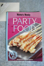 Party Food - Women's Weekly mini cookbooks OzSellerFasterPost!