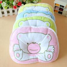Baby Pillow Infant Toddler Lovely Cosy Baby Bedding Bear Print Oval