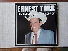 Ernest Tubb - The Legend and the Legacy on Silver Eagle Records - 20 songs