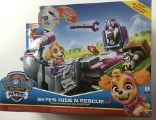 Paw Patrol, Skye's Ride 'n' Rescue, Transforming 2-in-1 Playset and Helicopter