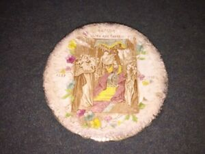 1897 Diamond Jubilee Queen Victoria Crowning Plate.