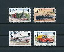 Jersey   884-7 MNH, Mail Transportation, 1999