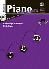 AMEB Piano For Leisure Grade 6 - Series 3 Handbook - Piano Music Book with CD