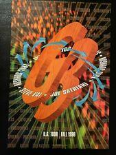G3 Steve Vai Joe Satriani Eric Johnson Fall Tour 1996 Poster