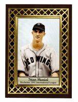 Stan Musial '41 Rochester minor leagues, Fan Club serial numbered /300