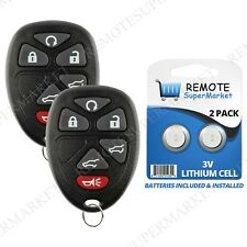 Replacement for 2007-2014 Cadillac Escalade ESV EXT Remote Car Key Fob 6b Pair