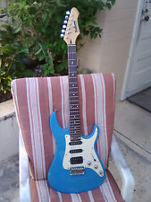 Rockwood/Hohner Strat-Type Electric Solid Body (Blue) Great Shape/Plays Awesome!