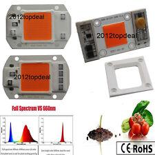 AC220/110V High Powe 30 50W led chip built-in driver 380-840NM Full Spectrum LED