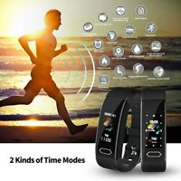 Smart Sport Wrist Watch Step Calorie Counter Pedometer Heart Rate Bracelet Band