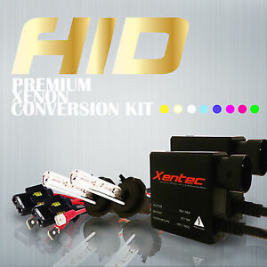 Xentec 35W HID Xenon H4 9003 HB2 HI/LOW Headlight Conversion Kit ALL COLORS
