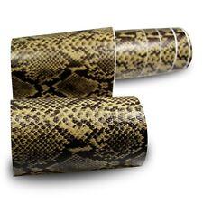 33?/m² Premium 3D Snake Schlangen Leder Auto Folie Luftkanäle 20cm x 30cm DIN A4