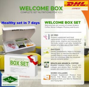 Box Set Welcome Healthy Health Care Phytovy Detox Hypro Strawberry Morse Collage