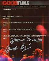 "Benny & Josh Safdie ""Good Time"" Directors AUTOGRAPH Signed 8x10 Photo"