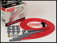 MSD SUPER CONDUCTOR UNIVERSAL WIRES RED, STRAIGHT BOOTS. # MSD-31189
