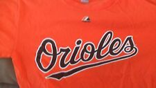 MLB BALTIMORE ORIOLES TSHIRT SZ.M MAJESTIC ORIOLES SIZE MED.