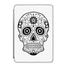 "BLACK zucchero Candy teschio Case Cover Per Kindle 6"" e-reader-Tattoo Pattern"