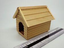 1:12 canile in legno Casa delle Bambole Miniatura Accessorio Giardino Pet