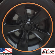 All-Fit Rim Trim [Orange] Ring Molding Color Wheel Band Kit for Ferrari