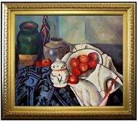 Framed, Paul Cezanne Still Life Repro, Hand Painted Oil Painting 20x24in